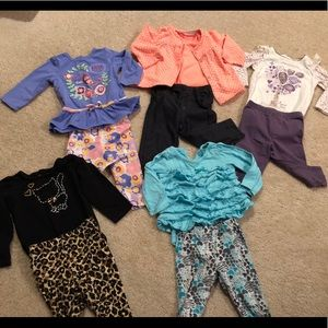 Outfit sets various brands